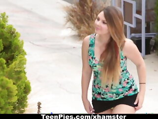 TeenPies - Creampied By Her Best Friends Dad