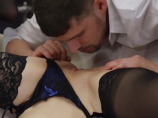 Remarkable sex kitten Kylie Nymphette accomplishes some hot sex positions