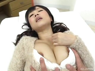 Amateur video of a hairy pussy Japanese chick property fucked
