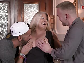 German bbw obese mom with bg tits threesome
