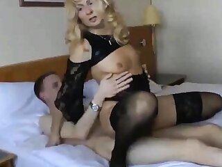 Cuckold girl near younger follower groupie