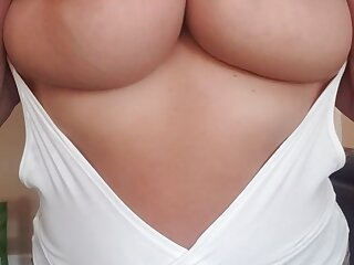 Can I slap you in the face with my huge milf tits?